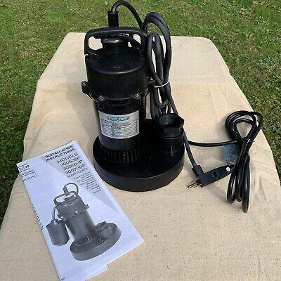 Nos Burcam 300700p Submersible Sump Pump 12 Hp 115v