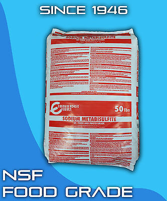 Sodium Metabisulfite 1 Lb Food Grade Nsf Photograde Sterilant