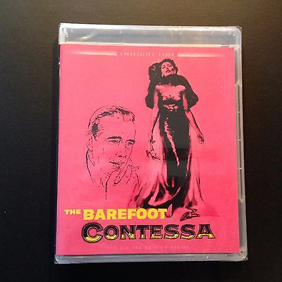The Barefoot Contessa, (Blu-ray, 2016, Twilight Time, LTD, Bogie & Ava Gardner) The Barefoot Contessa Ava Gardner