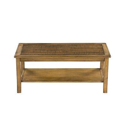 SLEEPLACE Wood Top Coffee Table, Light brown 18TB12D - Light Wood Coffee Table