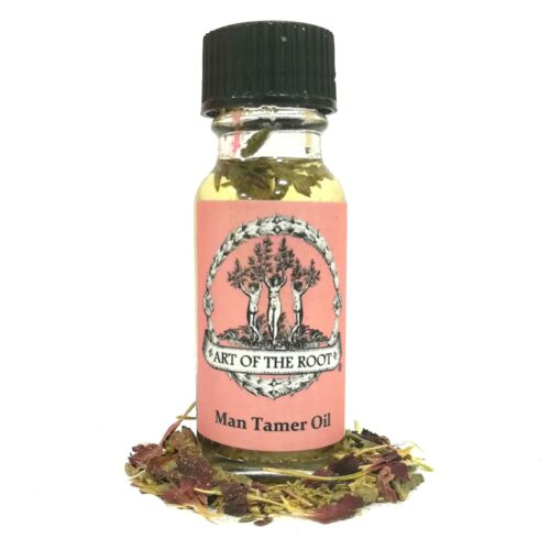 Man Tamer Oil Control Influence Fidelity Anger Hoodoo Voodoo Wicca Pagan Conjure