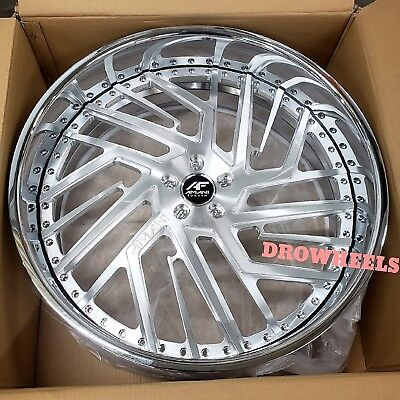 26 AMANI FORGED Vivo W TIRES  Box Chevy Impala Caprice Cutlass IN STOCK NEW