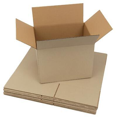 10x Small A4 Cardboard Boxes–Packing Mailing Postal & Moving Boxes–305x229x234mm