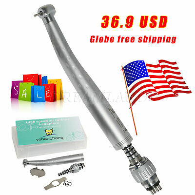 Yabangbang Dental High Speed Handpiece With Quick Coupler 4-hole Coupling Gb4