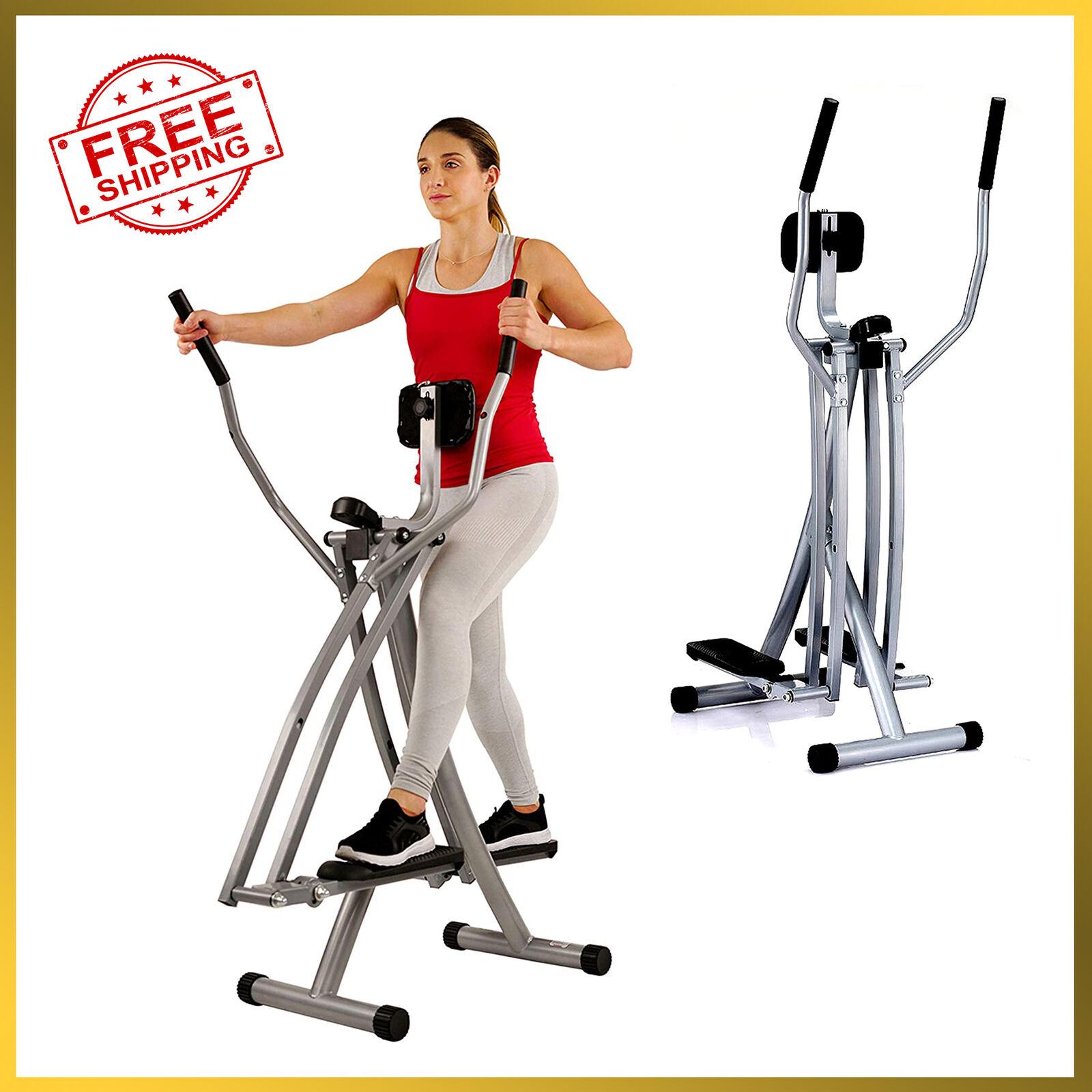 Sunny Health & Fitness SF-E902 Air Walk Trainer Elliptical M