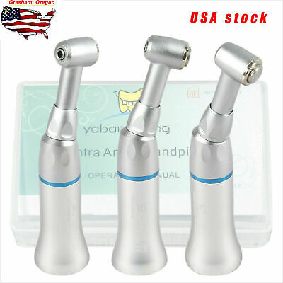 Nsk Style Dental Slow Low Speed Contra Angle Handpiece Push Button E-type Ybb-m