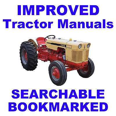 Ji Case 430 530 630 Series Tractor Service Repair Shop Manual Searchable Cd