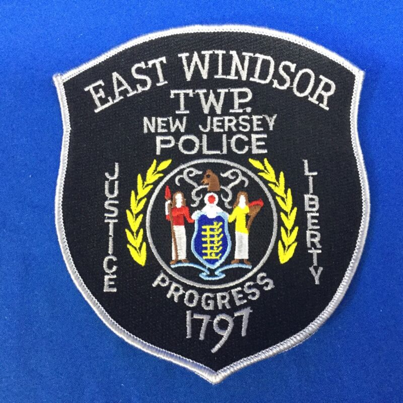 East Windsor Twp. New Jersey Police Shoulder Patch FREE SHIPPING