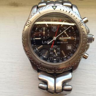TAG HEUER LINK MENS WATCH Balmain Leichhardt Area Preview
