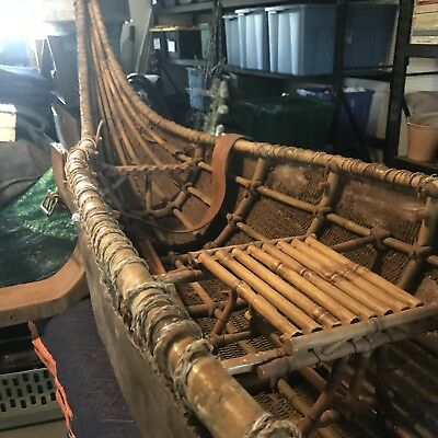 13 Feet Long  Boat Movie Prop from the 2002 Film THE TIME MACHINE
