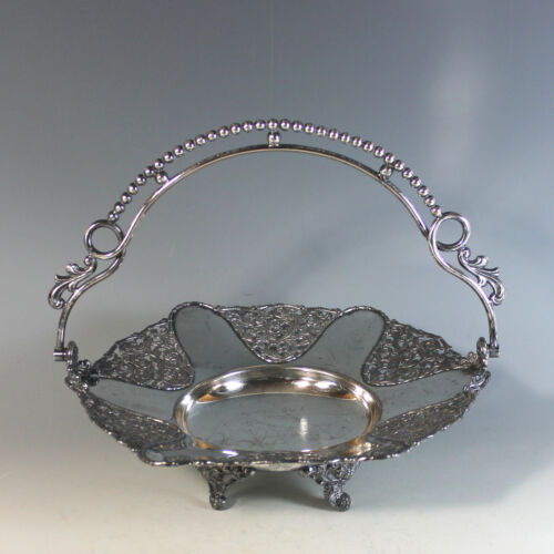 Antique Aesthetic Movement Silver plate Bride