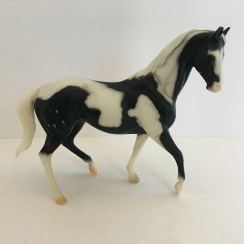 Classic Breyer Horse Black Jack B Ranch Series Toy Black & White #263