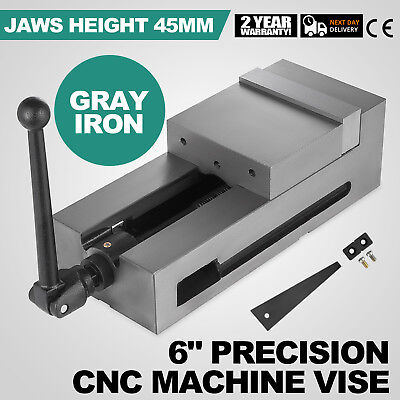6 Ang-lock Cnc Vise For Cncbridgeport Milling Machine