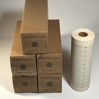 One 1 Varian Associates Chart Paper Recorder Roll No. 5a