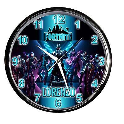 orologio NUOVO da parete FORTNITE games videogioco