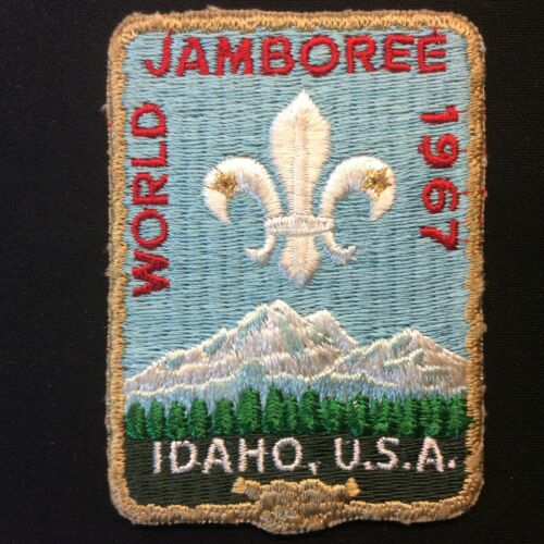 1967 World Jamboree Official Patch Idaho BSA Boys Scouts of America Badge
