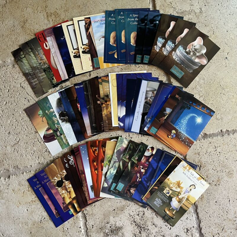 Walt Disney Collectors Society - Postcards - Lot of 50+