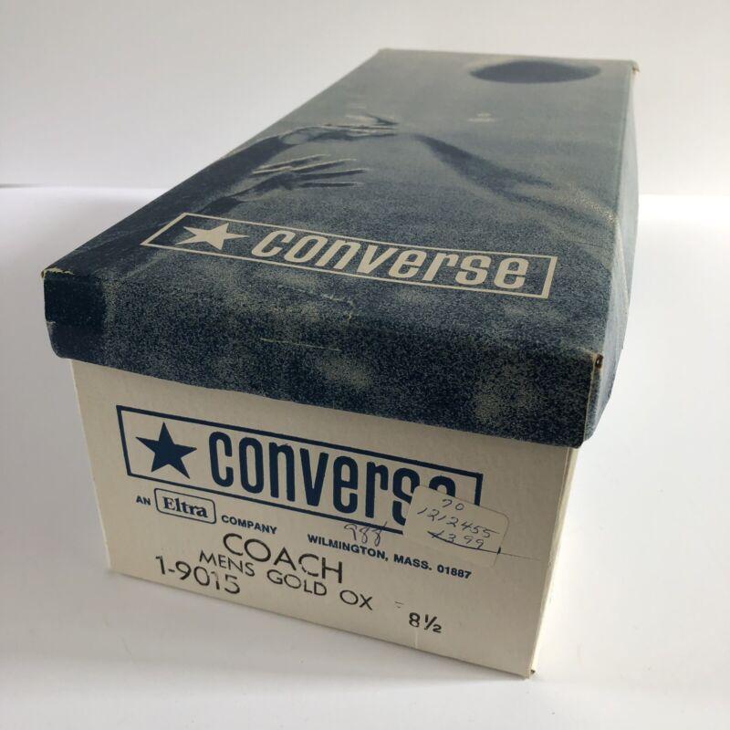 Empty Vintage Converse Shoe Box For Coach Men's Size 8 1/2  *BOX ONLY*