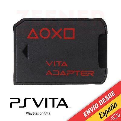 SD2VITA Adaptador tarjeta de memoria microSD a PSVita, micro SD PS Vita...
