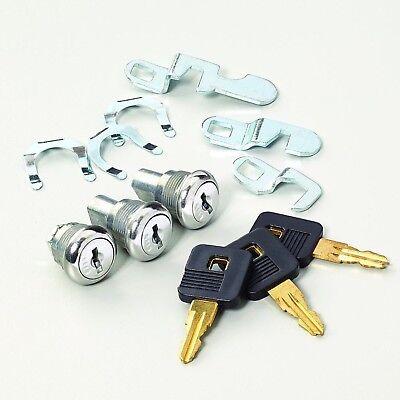Craftsman Lock Tool Box Chest Key Safe Replacement Truck Storage Set of 3 (Locking Tool Box)