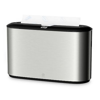 No More Disgusting Baskets !!  SCA 302030 Countertop Tork Paper Towel Dispenser