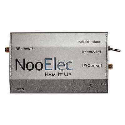 Ham It Up RF Upconverter v1.3: Extruded Aluminum Enclosure, Silver; RTL-SDR USA