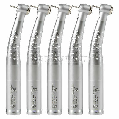 5pcs Fit Kavo Dental 6 Hole High Speed Push Button Led Quick Connect Handpiece