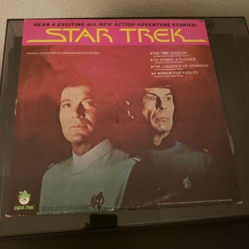 Star Trek 4 Exciting Stories 76 Vinyl LP Peter Pan Label VG - $7.99