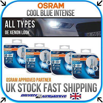 OSRAM Cool Blue Intense All Bulbs H1 H3 H4 H7 H11 H15 H16 HB3 HB4 W5W HIR2