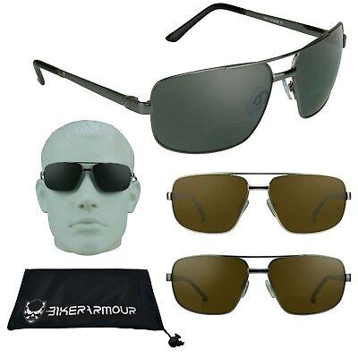 Quadrat Aviator Polarisiert Bifokale Lesen Sonnenbrille Sun 1.5 2.0 2.5 3.0