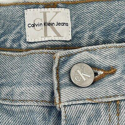 """Calvin Klein 1990's Vintage •Size 12• Women's CK High Waisted Jeans •28"""" Inseam"""