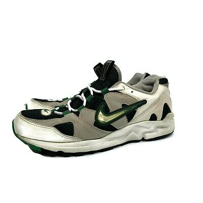 detailed look 64ad1 a82e1 Vintage OG 1997 Nike Air Structure Triax White Green Running Shoes Size 10  Rare
