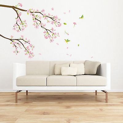 Japanese Apricot Flower WALL ART DECOR DIY Decal Mural STICKER k067