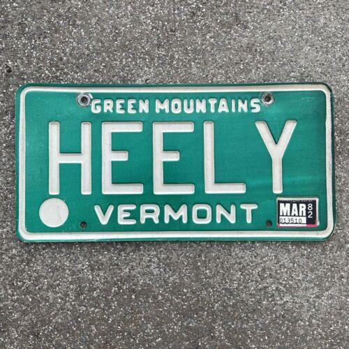 Original US Auto Kennzeichen Nummernschild USA 🇺🇸Vermont Green Mountains