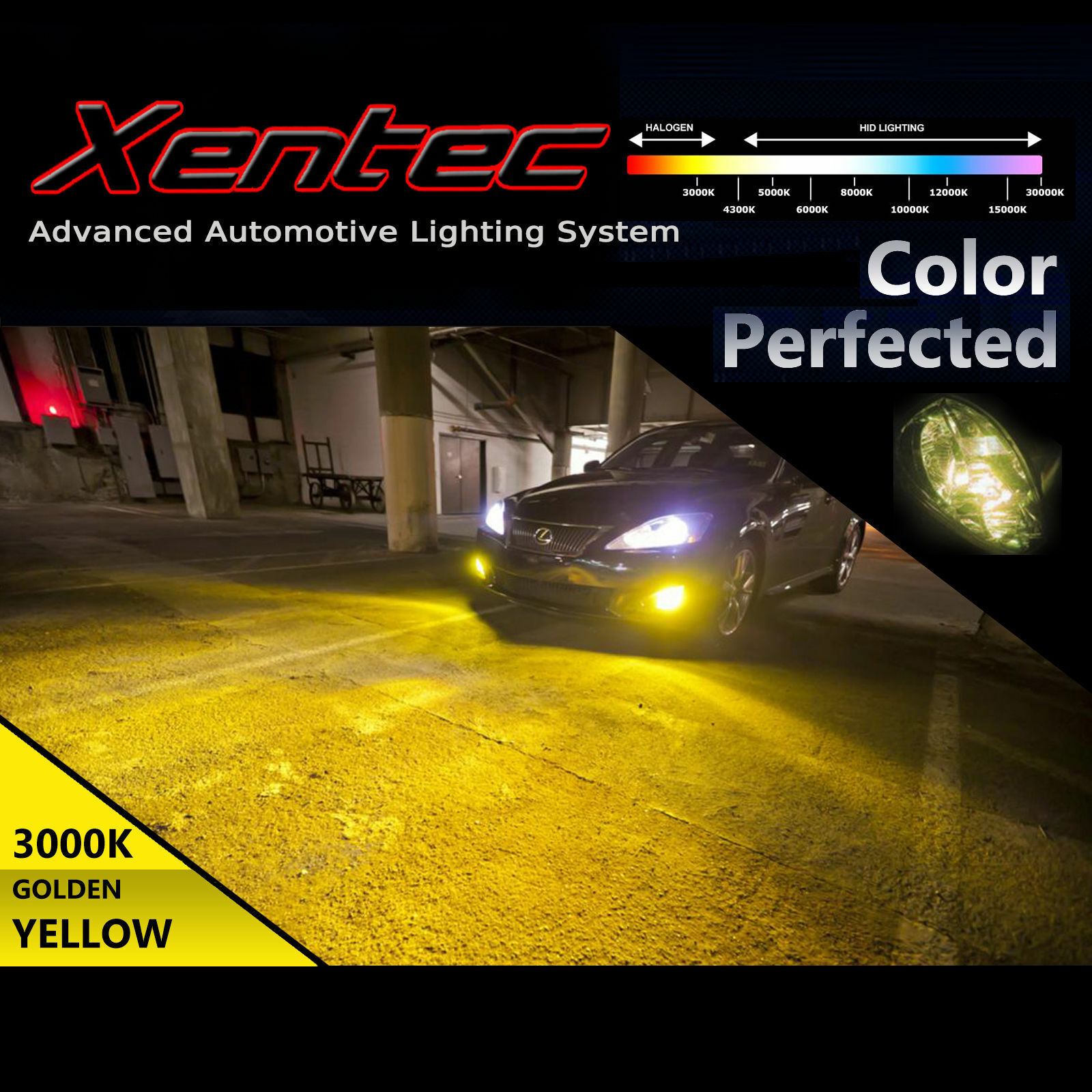 Xentec 35W 55W HID Conversion Kit Xenon Light 9005 HB3 5000k 6000k 8000k 10000k