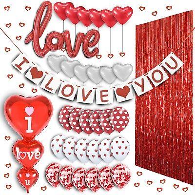 Valentines Day Balloon Decorations Valentine Mothers day balloons  Wedding bday (Mothers Day Decorations)