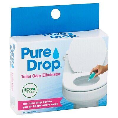 Pure Drop Toilet Odor Eliminator Eco Friendly Just One Drop 0.67 Fl Oz 20ml