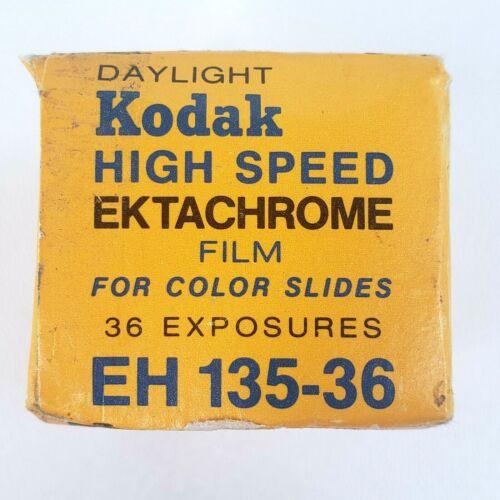 Daylight Kodak EH 135-36 High Speed EKTACHROME Film 36 Exp Expired Feb 1973 NEW