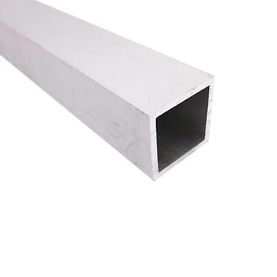 Us Stock 2pcs 25mm25mm 6063 Aluminum Metal Square Tube 1.4mm Wall 9.8 Length