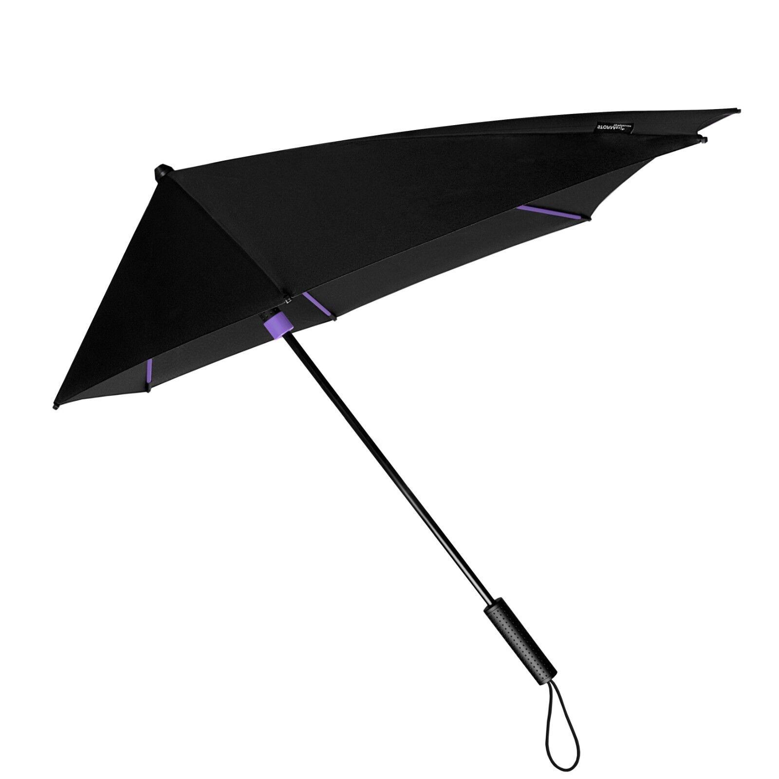 Premium Compact Windproof Umbrella Wind Vented Canopy /& 10 Storm Resistant Ribs