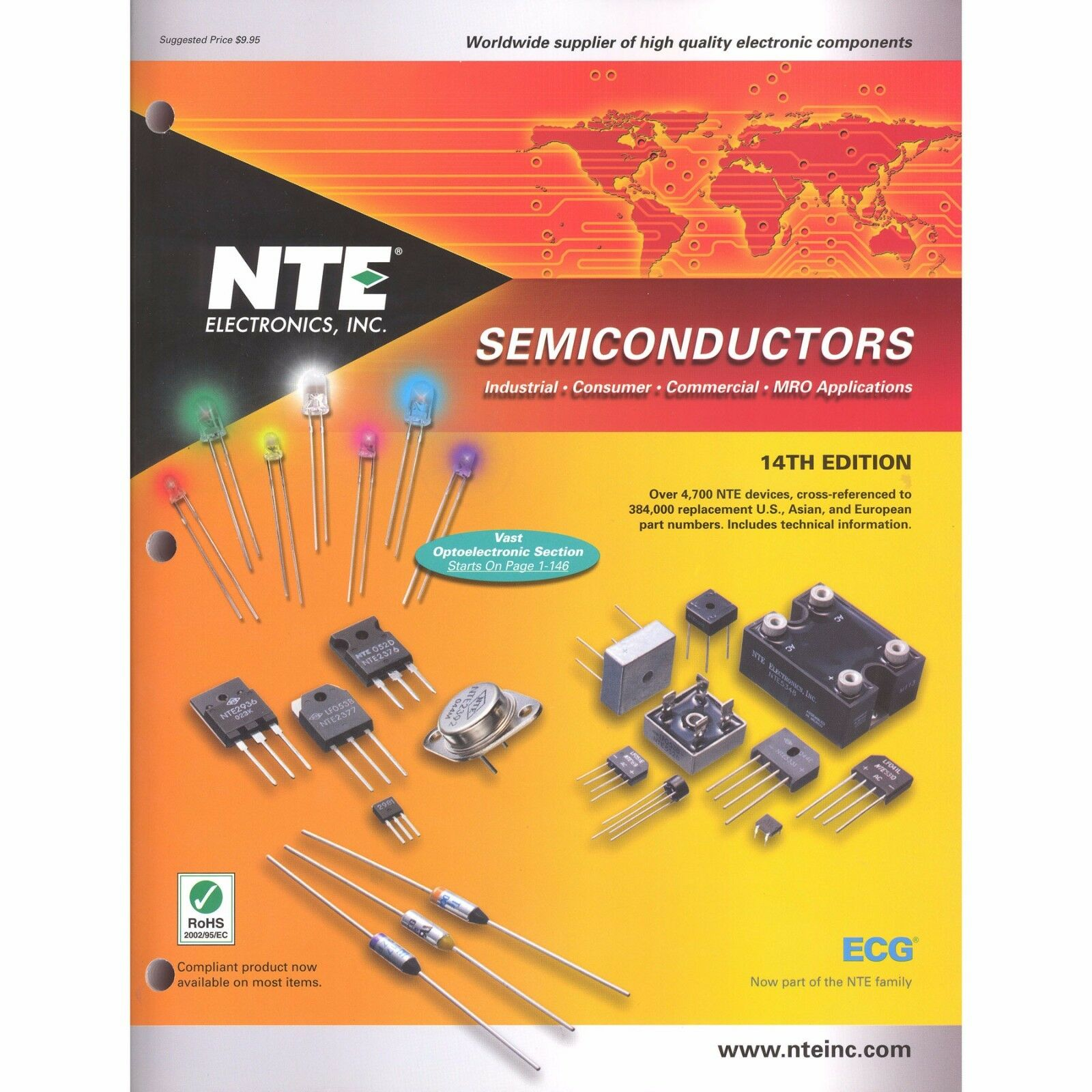 nte el01 014 semiconductor technical guide and cross reference book rh shoppingbin com
