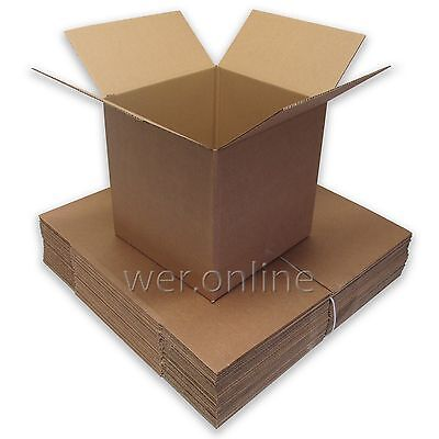10 x Mailing Postal Packaging Cardboard Boxes 12 x 12 x 12