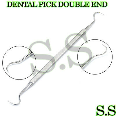 1 Stainless Steel Dental Pick Double End Pr-279
