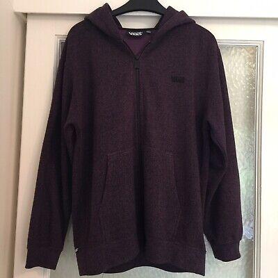 Purple/Burgundy Vans Hoodie Size XL Unisex