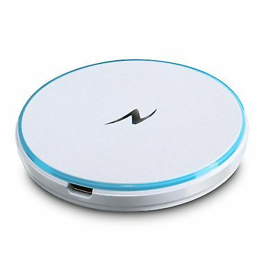 Nillkin Magic Disk Qi Compact Wireless Charging Pad for Samsung Note 3 S4 White