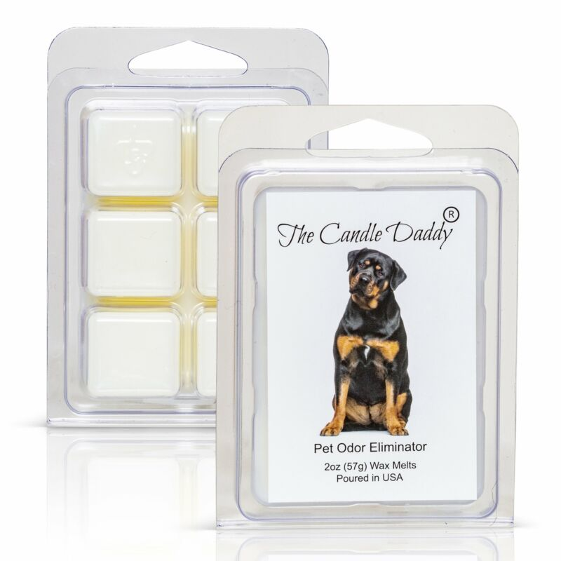 Rottweiler Dog - Pet Odor Eliminator Scented Melt- Maximum Scent Wax Cubes/Melts