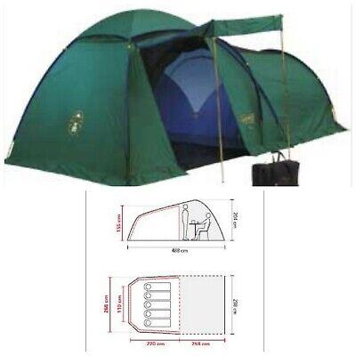Tenda Campeggio 5 posti COLEMAN BI SPACE 500