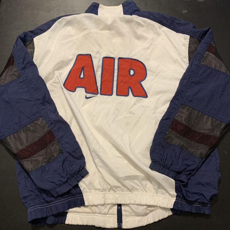 Vintage Nike Windbreaker Jacket Uptempo USA Olympic Streetwear Fashion 90s Rare