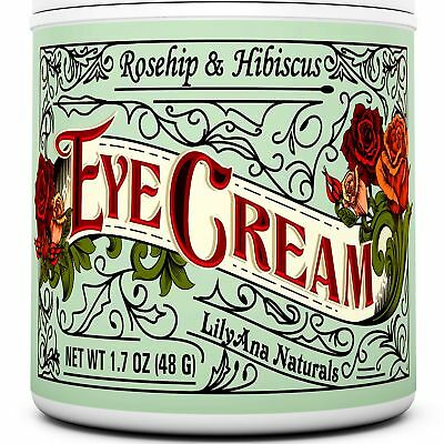 Eye Cream Moisturizer  94% Natural Anti Aging Skin Care