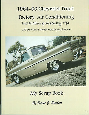 64 65 66 Chevy Truck Factory A/C Installation & Assembly Tips -